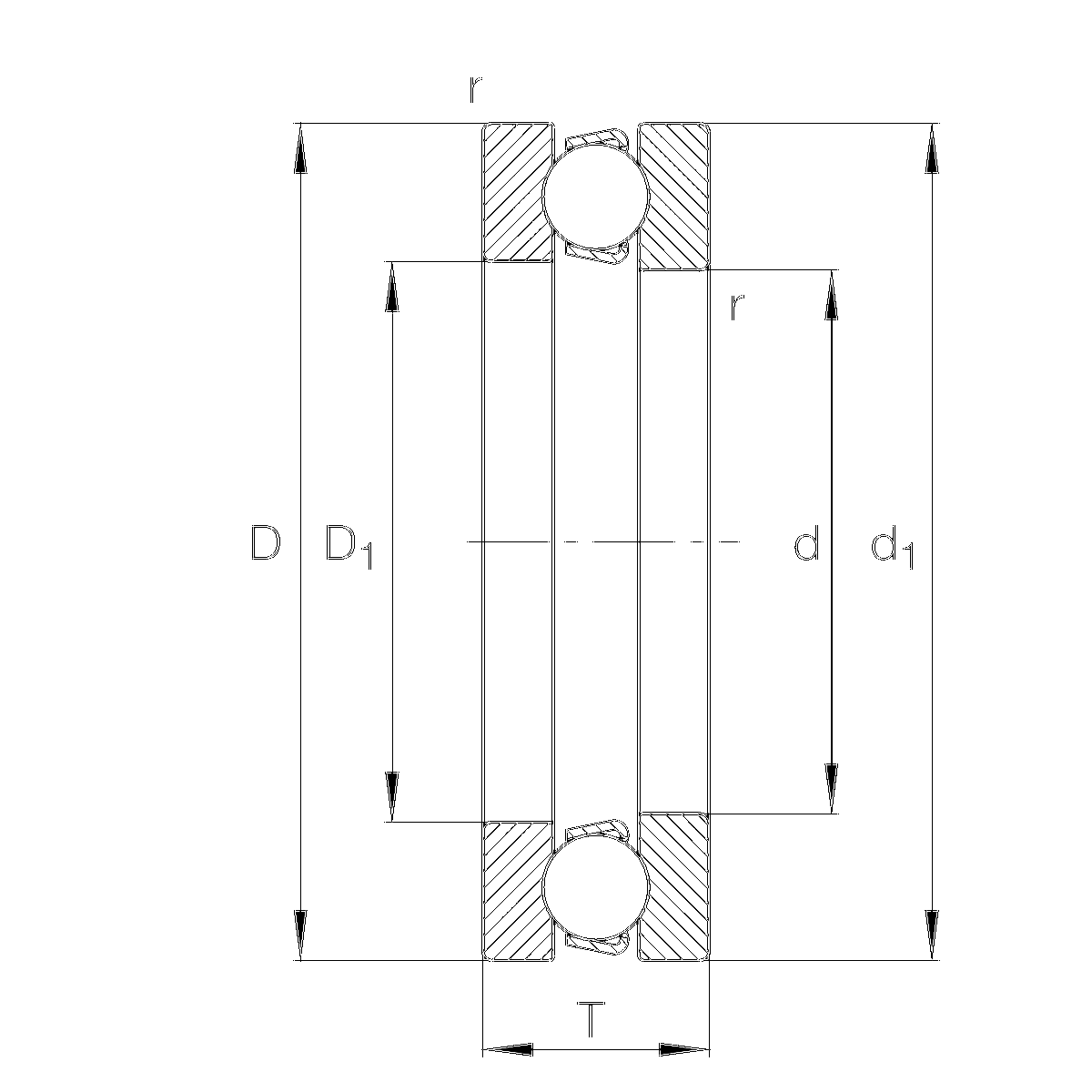Axial-Rillenkugellager